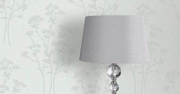 homebase grey flower wallpaper
