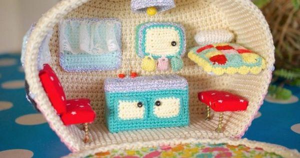 Caravan Knitting Pattern : Crochet Vintage Caravan Free Pattern All The Best Ideas Patterns, Crochet a...