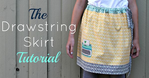 Drawstring Skirt Pattern