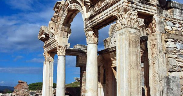 One of my favorite places visited. Ephesus in Turkey!
