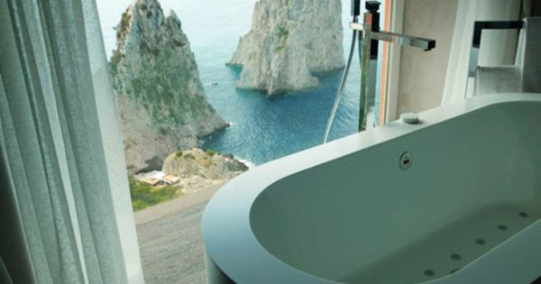 Hotel Punta Tragara, Capri, Italy. dream a little dream for me. A