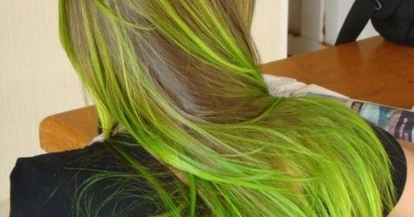 Green Hair Color Green Black Go Well Together Don 39 T