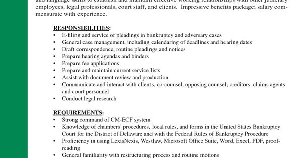 Resume cover letter for legal assistant position Resume and cover - document review attorney sample resume