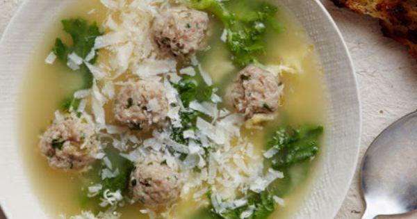 Giadas Italian Wedding Soup