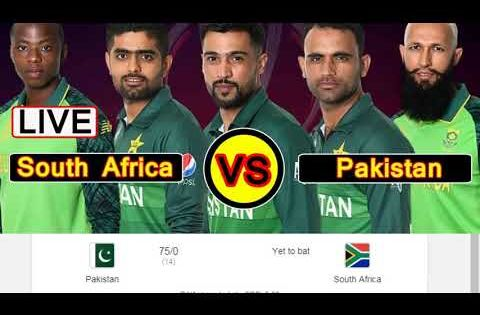 Pin On Pakistan Vs South Africa Ptv Sports Live Match From England