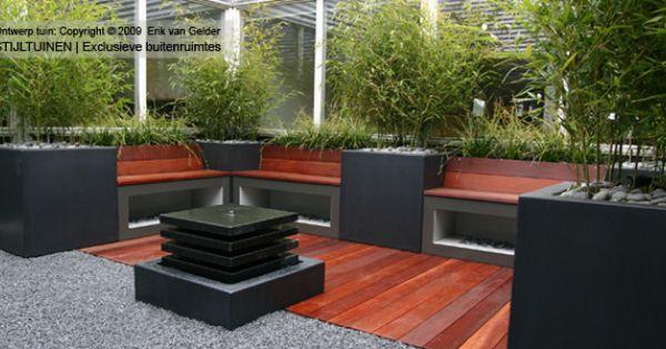 Hovenier hoveniersbedrijf rotterdam strakke patiotuin tuin pinterest tuinidee n japanse - Moderne tuin ingang ...