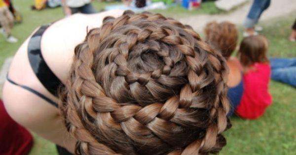 Swirl crown braid, amazing!!!!