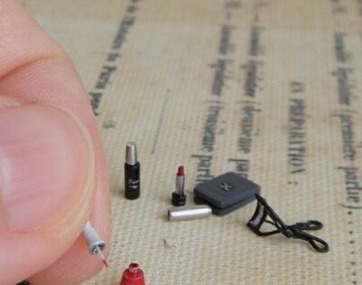 1/12th scale fancy makeup. | 29 Adorably Tiny Versions Of Normal-Sized Things