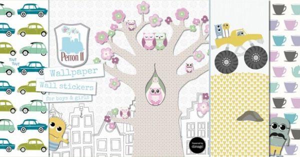 Muurstickers Perron 11 #kinderkamer #babykamer Stickers zonder giftige ...