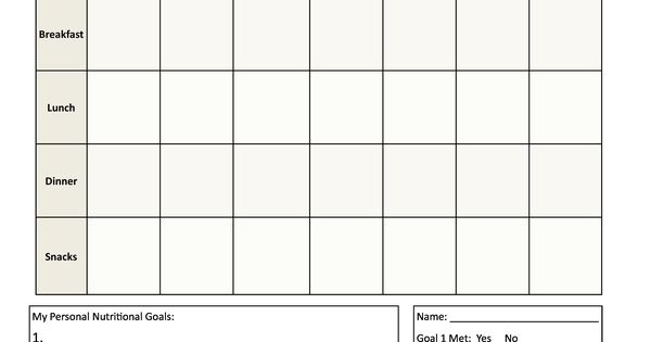 webelos fitness badge worksheet