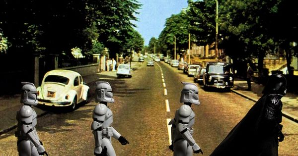 """Abbey Road,"" based on Ilan Macmillan's famous Beatles album cover. ""... Equal"
