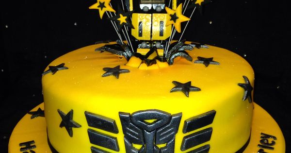 Bumblebee Transformer Cake Paxtons Bday Ideas