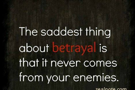 Sad Quotes Betrayal: Sad Quotes About Friendship Betrayal