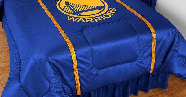 Golden State Warriors Nba Sidelines Room Comforter And