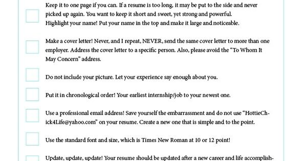 Resume Building Interview Prep 101 Pinterest - how to update your resume
