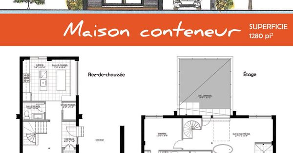 La maison conteneur containers plans pinterest for Autoconstruction maison container