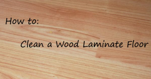 Clean Wood Laminate Floors Naturally Nature Moms