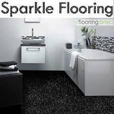 Image Result For Sparkly Bathroom Vinyl Flooring Bathroom Flooring Black Bathroom Floor