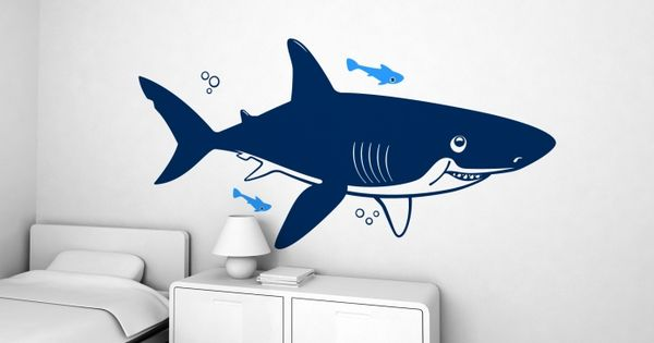Shark Xxl Wall Decal Children S Wall Stickers For Baby