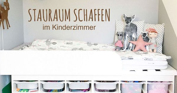 stauraum schaffen in kinderzimmern unsere tipps ikea hack kids rooms and room. Black Bedroom Furniture Sets. Home Design Ideas