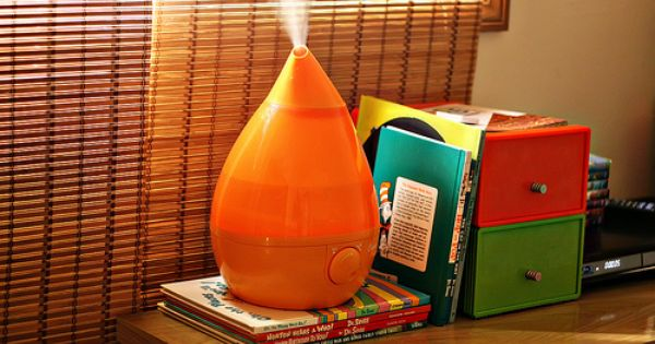 Orange Drop In The Home Design Cool Mist Humidifier