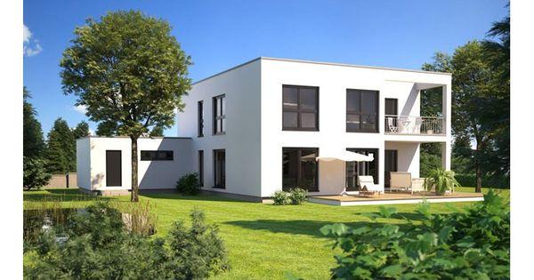 Hommage 293 einfamilienhaus mit einliegerwohnung elw for Zweifamilienhaus bauhausstil