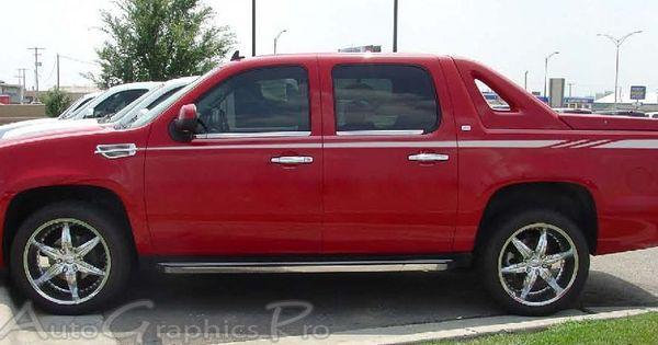 Chevy Avalanche Chevy Avalanche Chevy Car Stripes