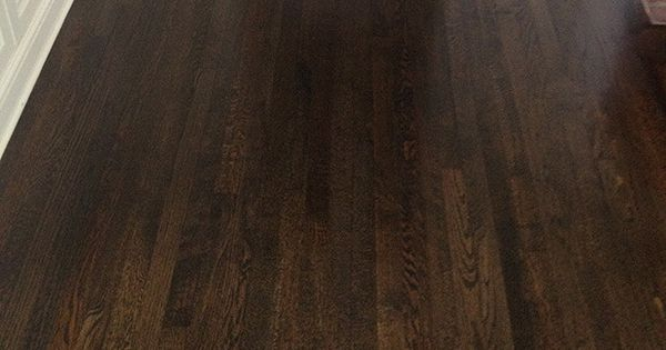 Jacobean stain is my first choice not ebony or espresso for Hardwood floors jacobean