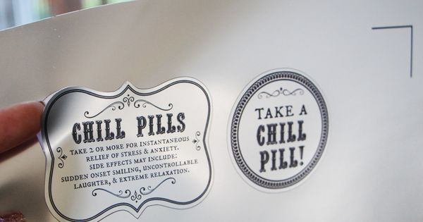 Chill pill, Gag gifts and The label on Pinterest