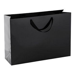 Download Jumbo Black Gloss Gift Bag Paper Bag Design Infographic Design Bags