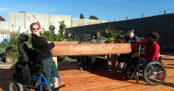 Accessible Table Garden Plots In Berkeley Ca Universal