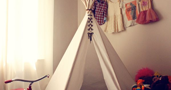 diy kids tents and teepees.