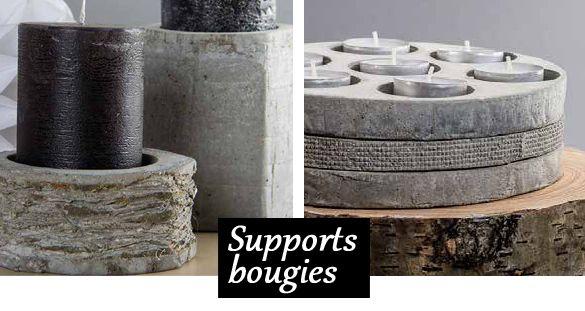 beton creatif support bougie cement emento pinterest. Black Bedroom Furniture Sets. Home Design Ideas