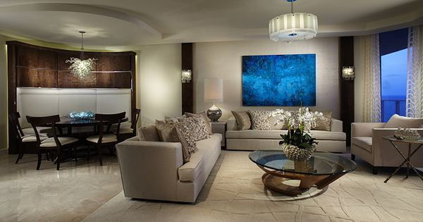 High End Interior Design Firm Decorators Unlimited Palm Beach Caribbean Family Great Room