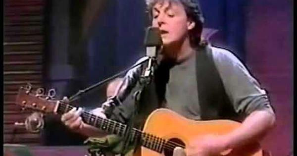 Paul Mccartney Unplugged 1991 Mtv