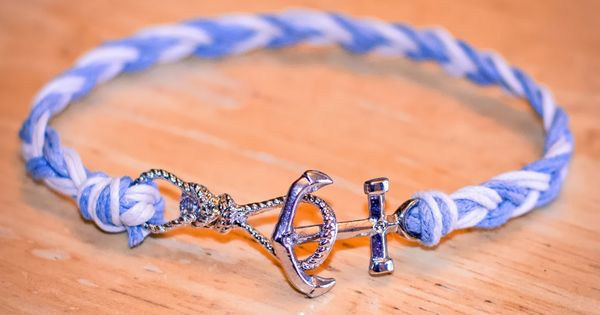 Do It Yourself Jewelry: A Mother's Craftuition: Anchor Bracelet, Nautical, Diy