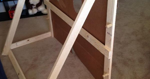 Diy Stand For Face Cut Out Photo Props Pinterest