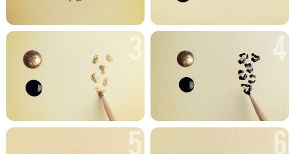 Animal print nail polish