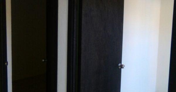Puertas Tipo Tambor De Triplay Con Marco Sencillo