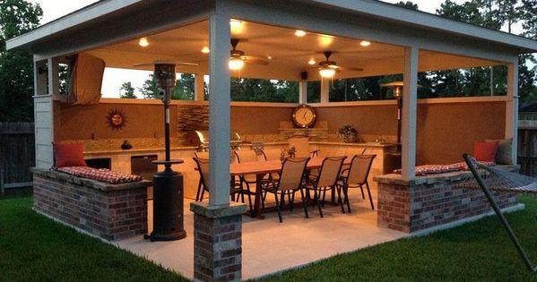 Quincho casa pinterest patios traseros for Disenos de patios traseros