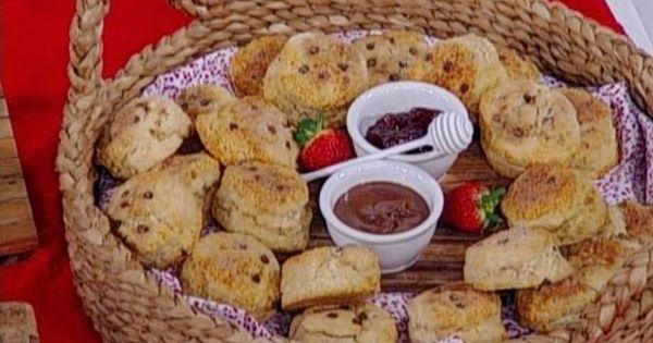 ديما حجاوي تحضر سكونز التشوكلت تشب والقرفة Food Desserts Cookies