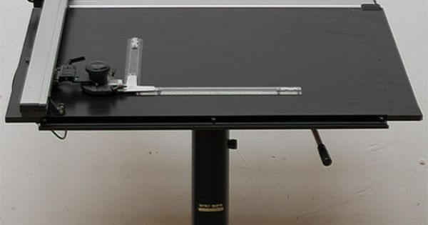 Museum Of Forgotten Art Supplies Mutoh Drawing Table And