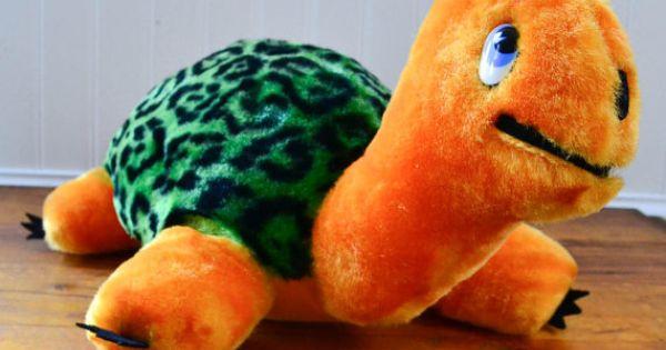Retro toys, Plush and Turtles on Pinterest