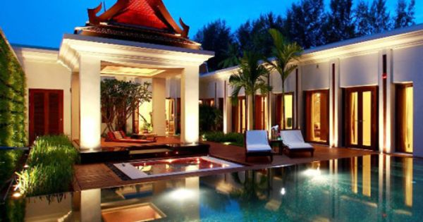 Pool villa at Maikhao Dream Villa Resort and Spa, Phuket, Thailand. http://www.kiwicollection.com/hotel-detail/maikhao-dream-villa-resort-and-spa