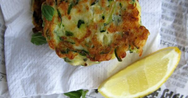 sauce asparagus and feta fritters recipes dishmaps asparagus and feta ...