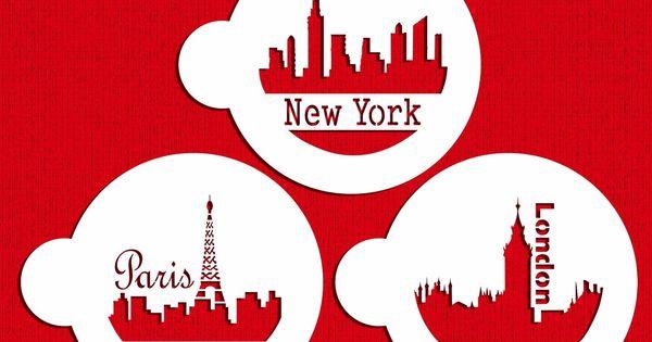 Pochoir g teau paris london new york for Art et maison new york