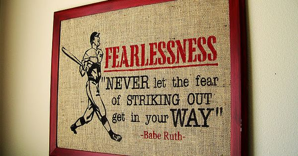 Baseball Quote - Babe Ruth