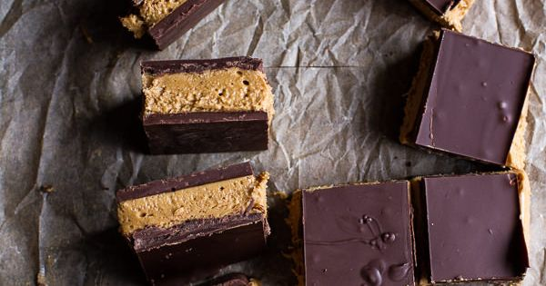 Triple Decker Chocolate Peanut Butter Bars | Peanut Butter Bars ...