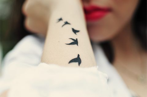 birds. I really want these somewhere, not sure where yet. Maybe arm?