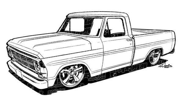 1969 ford f100 pickup truck